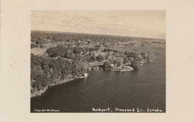 Aerial View of Rockport, ON