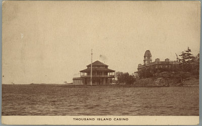 Postcard for the Thousand Islands Casino