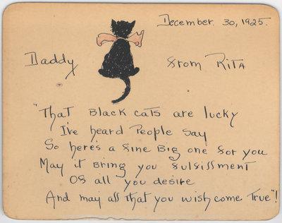 Springfield House Black Cat