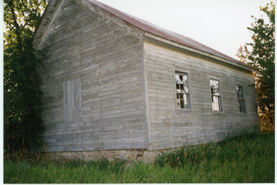 Back of Greenfield #3 School House