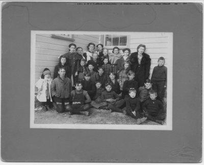 Sand Bay School  S.S. #18 & 15