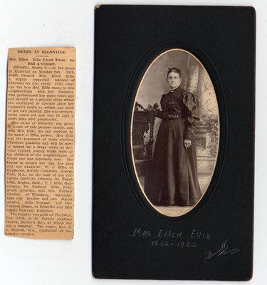 Mrs Ellen Ellis