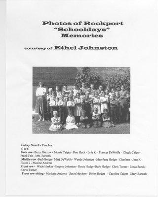 Rockport SS #14 Class