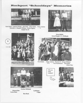 Rockport School Days Photo Compilation