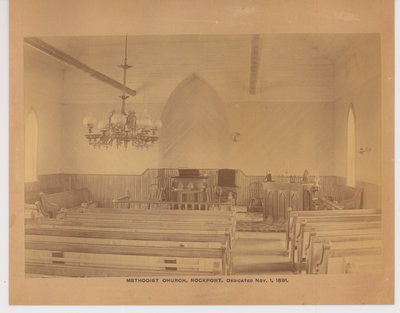 Methodist Church, Rockport, ON