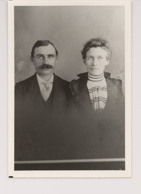 Rube Bell and His Wife