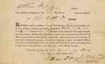 Military Warrant for Elisha Smith, 33rd Regiment of the Connecticut Militia- 1811