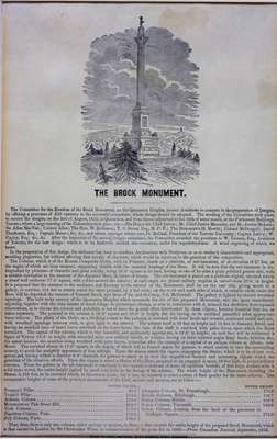 (The History of) Brock's Monument- The Canadian Journal