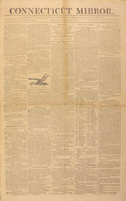 The Connecticut Mirror Newspaper- August 15, 1814