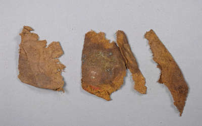 British Red Coat Uniform Fragments- c. 1812