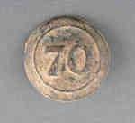 70th Surry Regiment of Foot Button- c.1812