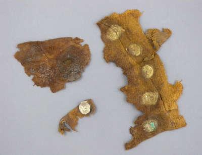 British Red Coat Uniform Fragments