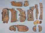 Shoes Soles Unearthed from Niagara's Battlefields