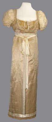 Wedding Gown Belonging to Jennett (Janet) Cooper Thompson
