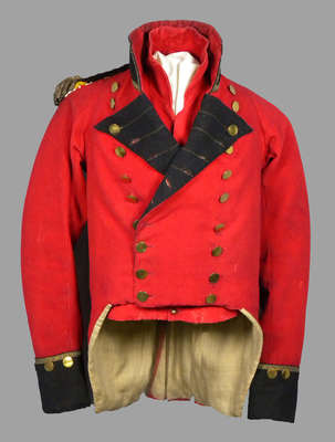 Military Coatee Belonging to James Thompson