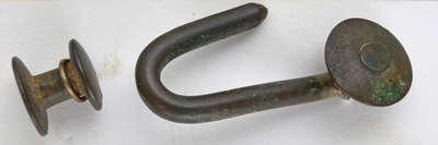Military Belt Hook and Eye c.1812-1814