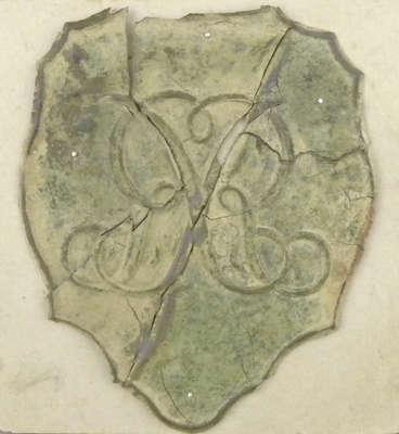 British Shako Plate- c. 1811
