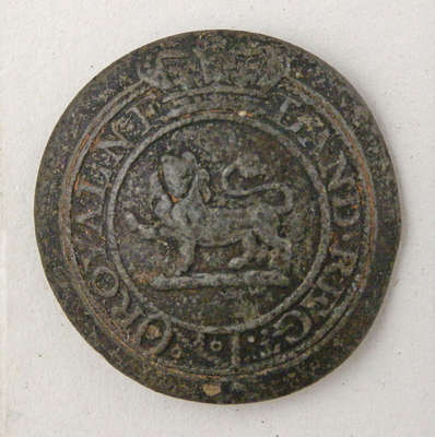 Royal Newfoundland Regiment of Fencible Infantry Button- c. 1812
