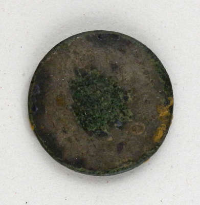 Plain Gaiter Button c.1812-1814