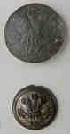 100th Regiment of Foot, Prince Regent of Dublin County Uniform Button c.1805-1818