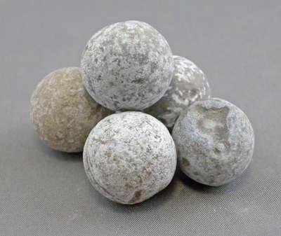 Musket Balls from Niagara Battlefield Sites