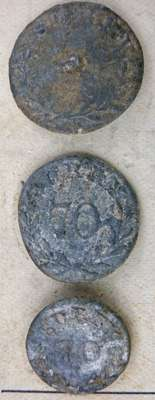 70th Surry Regiment of Foot Buttons