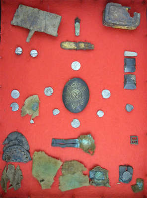 Various Military Remnants Found at Niagara Battlefield Sites