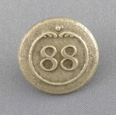 88th Regiment of Foot (Connaught Rangers) Button