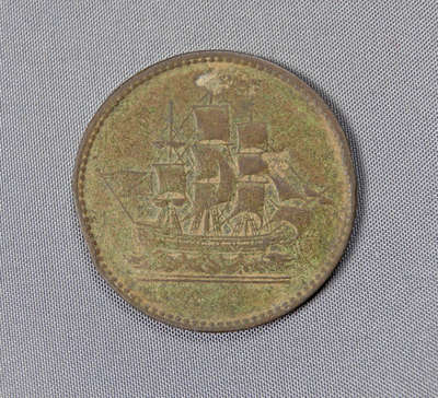 Ships, Colonies and Commerce Token