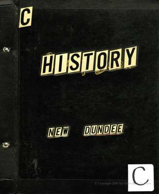 New Dundee Tweedsmuir History Book C