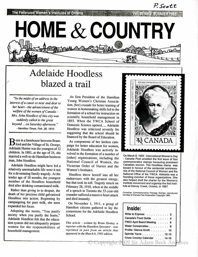Haysville Tweedsmuir History Book C, Page 35