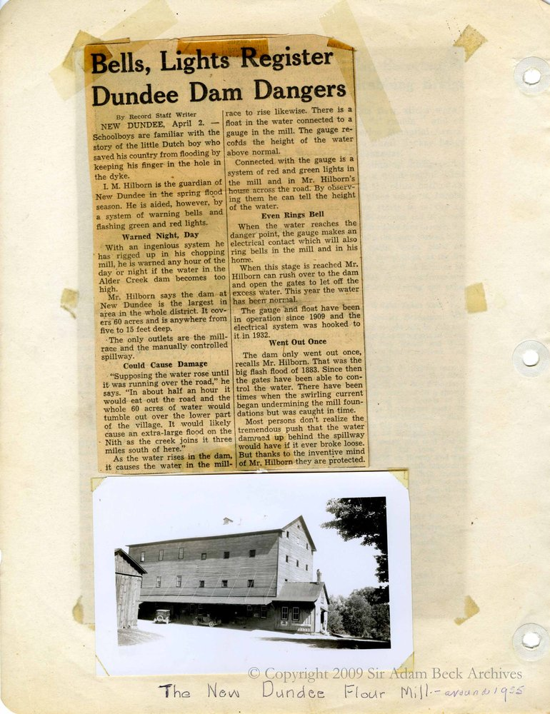 New Dundee Tweedsmuir History Book P