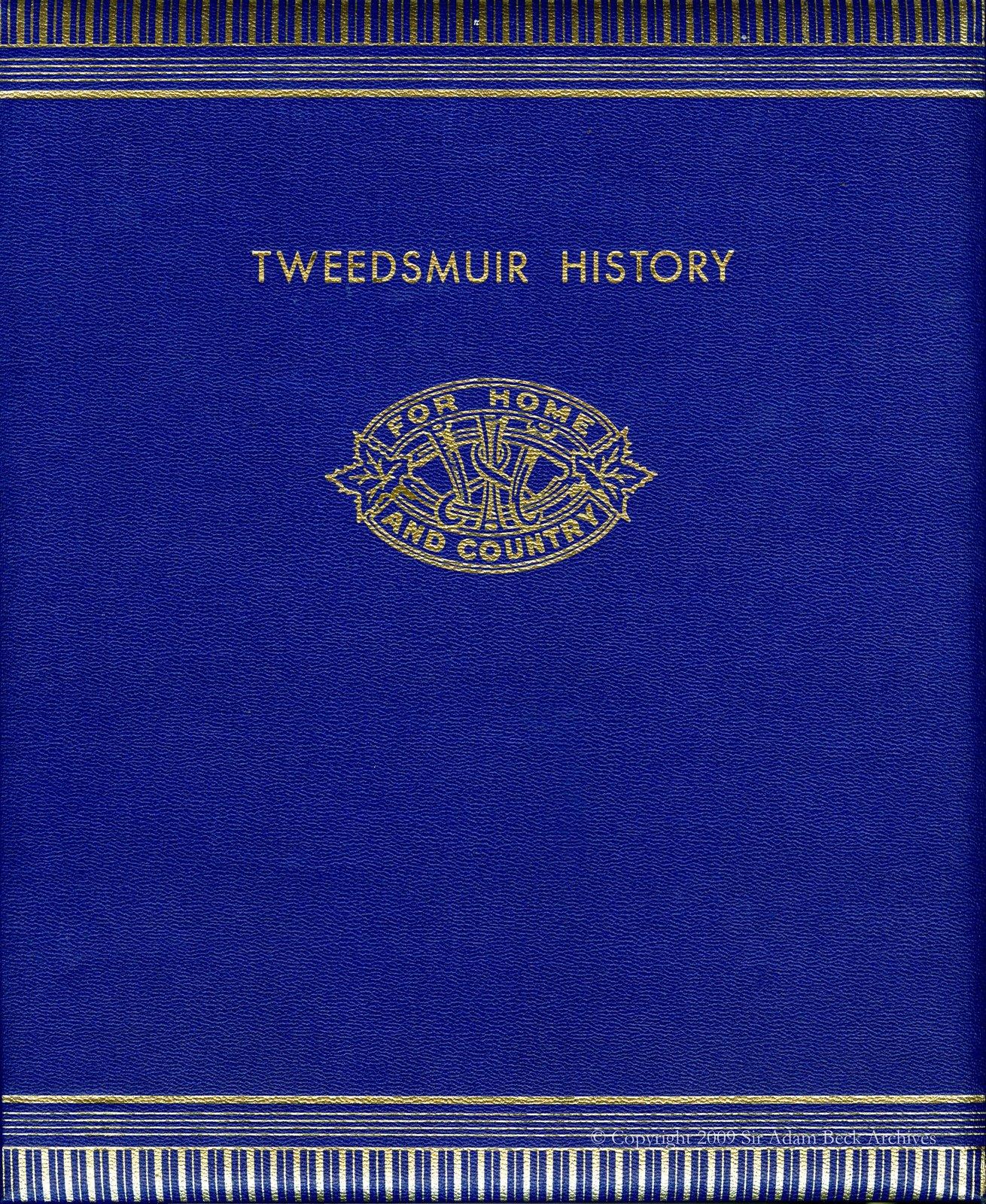 Haysville Tweedsmuir History Book A