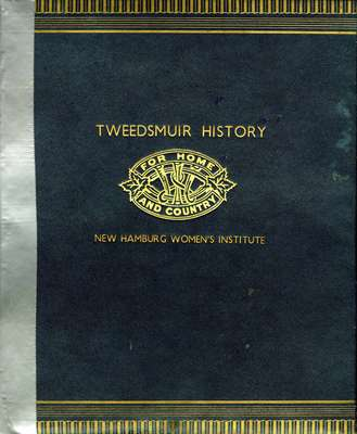 New Hamburg Tweedsmuir History Book F