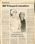 Bill Winegard Remembers