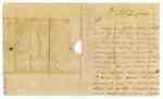 Letter from John Clark from Fort George to Major Jacob Ten Broeck- Shortage of Men