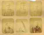 War of 1812 Photographs: Tecumseh, Four Veterans and a Blade