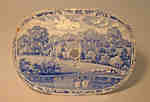 Blue and White China Platter- Catharine Currie