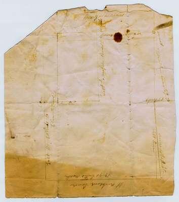Property plan Near Queenston Village, 1812