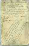 Captain Jacob Gander (Gonder)Ledger Book- 1802-1837