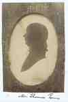 Silhouette of Mr. Thomas Powis