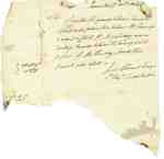 Letter from Joseph Clement Reporting the Status of Guards Between Queenston and Corbin's Inn, 1812