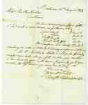 Letter  to Mr. BallMr. Nelles, Grimsby, from Forsyth, Richardson Company