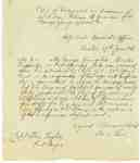 Transcript of an Order of Retirement for George Young, Master Carpenter at Fort George- 1815