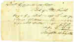Bill of Account to Lt. Leonard- July 14, 1814