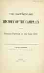 """The Documentary History of the Campaign on the Niagara Frontier 1812-1814"", By Lt. Col. E.A. Cruikshank"