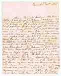 Letter from Augusta McCormick to her Father William Jarvis- May 29, 1812