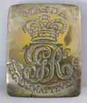 Cross Belt Plate- Regiment de. Watteville