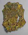 Shako Plate- Royal Regiment of Artillery