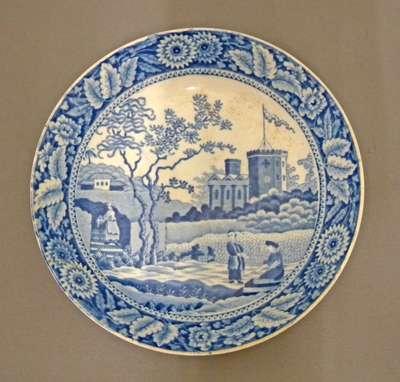 China Plate- 1809-15